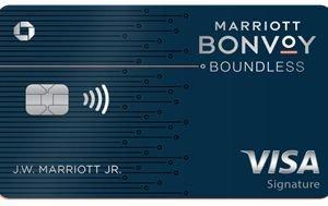 美国信用卡 – 摩根大通银行 Marriott Bonvoy Boundless Credit Card 简介,3 个 50k FN+10倍返点