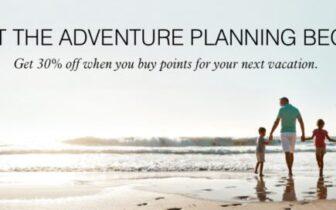 2021年6月20日前,万豪旅享家 Marriott Bonvoy 7折买分优惠