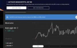 激活Mogo的虚拟货币买卖功能,可得$10+$5