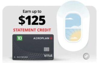 2021年6月30日前注册,加拿大Aeroplan联名信用卡送出高达$250的Statement Credit