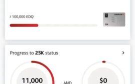 快讯 - 部分Aeroplan帐户已经开始看到Everyday Status Qualification进度