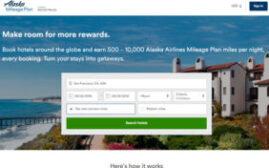 Alaska's Mileage Plan Hotel Program介绍,预订酒店得到500-10,000的Alaska里程