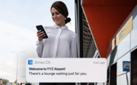如何使用Amex App手机程式搜索机场贵宾候机室