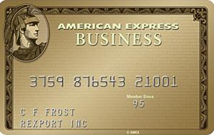 加国信用卡 - 美国运通Amex商业金卡介绍,6万分开卡礼(更新消费回报)