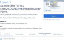 经验分享 - 美国American Express更改申卡的网页,现在不需要填SSN就可以直接申请新卡了