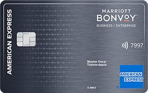 加国信用卡 – 美国运通Marriott Bonvoy商业信用卡介绍,开卡奖励最多10.5万分(历史最高)- 延期至9月20日
