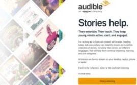 Amazon audible网站推出免费有声书