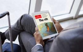 2021年7月4日前,订阅《经济学人The Economist》杂志最高可得18,000 Avios(历史最低价钱)