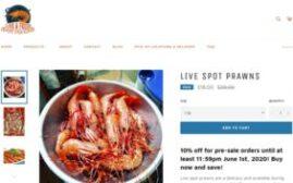 2020年6月1日前,BC斑点虾特价$18一磅,配酒建议
