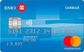 加国信用卡 - BMO CashBack Mastercard介绍