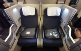 飞行体验 – 英国航空British Airways(BA)商务舱,伦敦-马德里