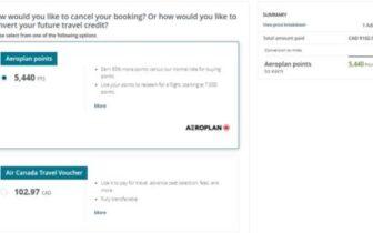 用1 CPP或1.4 CPP的折扣价买Aeroplan,又或者用折扣价买加航机票