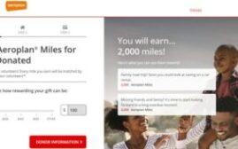 2020年9月30日前,向加拿大红十字会捐款每5元可赚取100 Aeroplan,值得考虑吗?