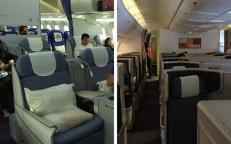 飞行体验 - 比较一下南航和国泰航空的商务舱