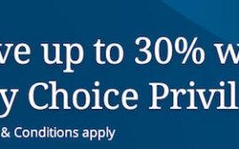 【已过期】2018年8月10日前,购买Choice酒店积分30%优惠,购买低价UA里程的最佳途径