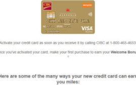 申卡经验 - 分享申请CIBC Aerogold Visa Card for Business的经验,以及如何看待转卡和Hard Inquiry