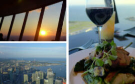 加拿大150周年加东之旅 – 人均最低花费$29加元的加拿大国家电视塔(CN Tower) 360旋转餐厅