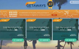2021年10日7日起,Daily Getaways 预热