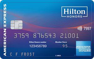 美国信用卡 - Amex Hilton Honors Surpass信用卡介绍,15万分+5万分开卡奖励(历史最高)