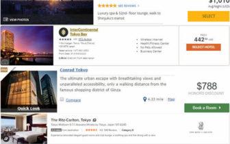 分析 - 比较一下4大酒店集团(希尔顿,凯悦,洲际,万豪 )的买分优惠,通过买分来兑换酒店住宿是否值得