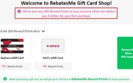 省钱攻略 – 在 RebatesMe 上面有那些礼卡值得买