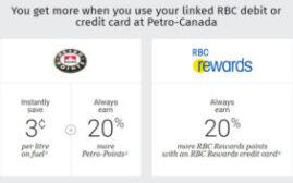 积分入门 -  手把手教你相连RBC和Petro-Canada,加油省钱兼多赚积分