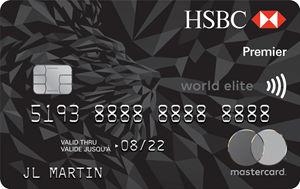 加国信用卡 - 汇丰银行HSBC Premier World Elite MasterCard 简介,7万分开卡礼