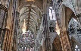 英伦游记 -  威斯敏斯特大教堂(Westminster Abbey)的导游团和晚祷