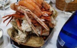 马德里美食 - Ribeira do Miño,份量超夸张的海鲜拼盘