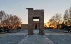 马德里游记 - 伊比利亚半岛夕阳+德波神庙(Temple of Debod)的排队和拍照经历