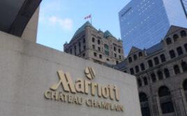 酒店体验 - 蒙特利尔Marriott Chateau Champlain酒店,一间古色古香而又位置适中的酒店