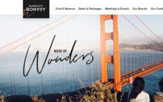 2021年10月7日起,万豪【纷呈七日-Week of Wonders】优惠活动 - 10月大量淡季价格兑换积分酒店上线