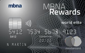 加国信用卡 - MBNA Reward World Elite Mastercard介绍 - 重做后能否成为新一代的全能神卡?