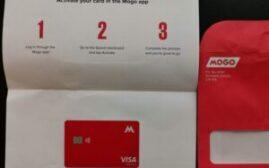 申卡经验 - Mogo  Prepaid Card,6月1号开始向1个比特币的小目标进发