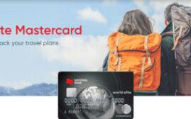 2021年1月31日前,National Bank Mastercard优惠,新开卡免首年年费+$300奖励+$250 Travel Credit