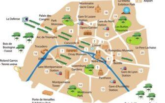 巴黎,一个必须一去再去的顶级旅游地点,游记总览以及巴黎景点路线图的介绍