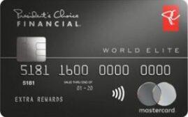 加国信用卡 - PC Financial World Elite MasterCard介绍,2020年8月6日前10万分PC Optimum