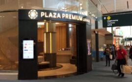 机场贵宾室体验 - 温哥华国际机场YVR Plaza Premium Lounge Domestic