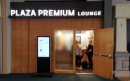 机场贵宾室体验 – 温哥华国际机场YVR Plaza Premium Lounge US