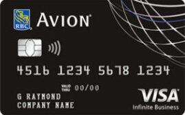 加国信用卡 - 皇家银行RBC Avion Visa Infinite Business