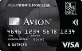 加国信用卡 – 皇家银行RBC Avion Visa Infinite Privilege介绍,加拿大无差别消费回馈之王