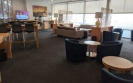 机场休息室体验 - 悉尼国际机场SYD REX Lounge