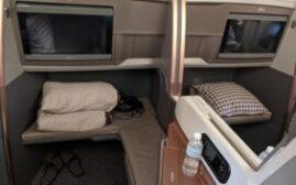 飞行体验 -新加坡航空A350-900商务舱,新加坡–墨尔本
