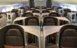 飞行体验 - 新加坡航空787-10,台北-新加坡
