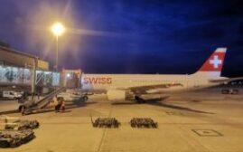 飞行体验 – 瑞士航空Swiss Air Lines(LX)商务舱,苏黎世-巴黎
