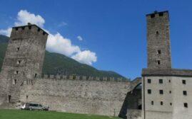 瑞士贝林佐纳城堡要塞游记