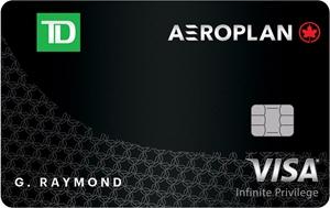 加国信用卡 - 道明银行 TD Aeroplan Visa Infinite Privilege Card 介绍,6.5万分+Buddy Pass