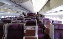 飞行体验 – 泰国航空Thai Airways(TG)商务舱,曼谷-广州