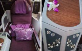 飞行体验 – 泰国航空Thai Airways(TG)商务舱,新德里-曼谷,传说中的跪式服务