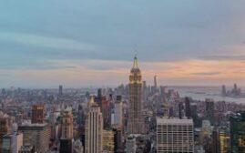 纽约游记 - 洛克菲勒中心Top of the Rock,拍摄帝国大厦的最佳位置